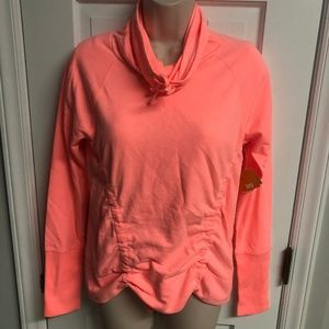 Lucy Lean and Mean Coral Pullover Sz S - NWT